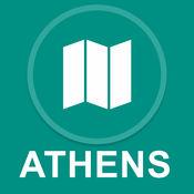 雅典,希腊 : 离线GPS导航