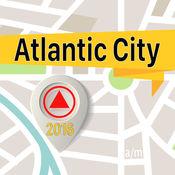 大西洋城 离线地图导航和指南 1
