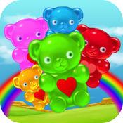 蔓熊赛三闪电战HD - 免费游戏与快乐,可爱,爽朗的树胶承担整个家庭