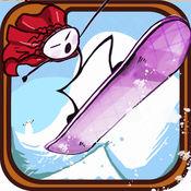 我的滑雪板
