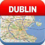 都柏林离线地图 - 城市 地铁 机场 4.3
