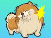 我的博美犬狗贴纸 1