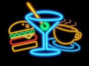 Neon Stickers - 霓虹灯贴纸 - 动画的迹象