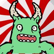 糖果怪兽跳转:疯狂的乐趣甜版 - 免费