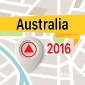 澳大利亚 离线地图导航和指南
