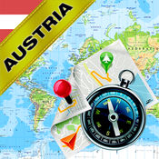 奥地利 - 离线地图和GPS导航仪