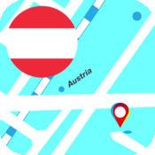 奥地利离线地图...