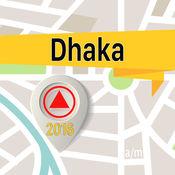 达卡市 离线地图导航和指南 1