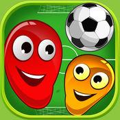 Chaos Soccer Scores Goal - 多人足球轻弹 2