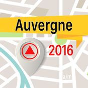 Auvergne 离线地图导航和指南 1