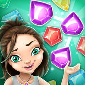 邏輯遊戲 – 神秘宝石游戏: 寻找丢失的钻石在颜色的益智冒险