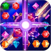 宝石仙女传说- 钻石消除:具有美丽女孩以及魔法效果特色的休闲游戏