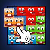 拼图笑脸表情 – 玩游戏脑并安排形状同笑脸