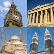 各大洲的首都 - 地理测验