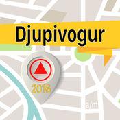 Djupivogur 离线地图导航和指南1