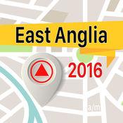 East Anglia 离线地图导航和指南1