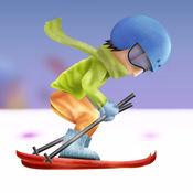 疯狂滑雪比赛冒险 - 最好的滑雪比赛的狂热 1.4