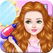 美发沙龙 时尚的发型 为女孩 2.4
