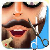 毛茸茸的胡子沙龙 - 这是凌乱的胡子和剃须理发游戏 1