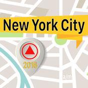 紐約市 离线地图导航和指南 1