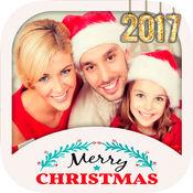 圣诞节和新年相框 - 照片编辑器