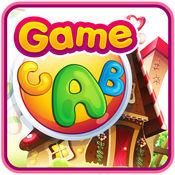 ABC字母表&追踪学习游戏的孩子