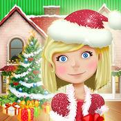 圣诞娃娃屋 - 家庭设计和装饰游戏