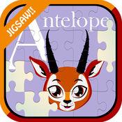 ABC字母动物魔术拼图游戏 1