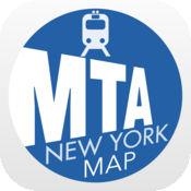 纽约地铁 - 离线地图的运输机