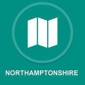 北安普敦郡,英国 : 离线GPS导航 1