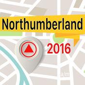 Northumberland 离线地图导航和指南