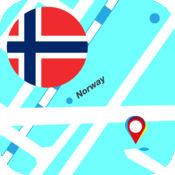 挪威离线地图