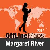 玛格丽特河 离线地图和旅行指南