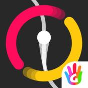 进击的小球 - 色彩识别过关和反应休闲街机小游戏