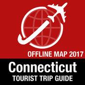 康乃狄克州 旅游指南+离线地图