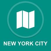 纽约市,美国 : 离线GPS导航 1