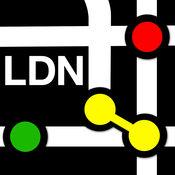 伦敦地铁地图