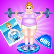 减肥计划- 胖女孩变身苗条美女