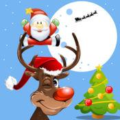 聖誕彩色書遊戲的孩子免費 1