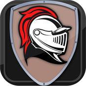 中世纪的骑士失控的挑战 - 极端的跑和跳短跑