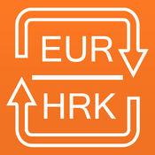转换克罗地亚库纳为欧元