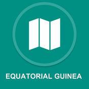 赤道几内亚 : 离线GPS导航1