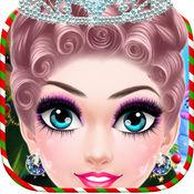 圣诞女王化妆 - 冻结皇后游戏