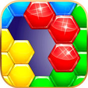 六角方块拼图积木形状