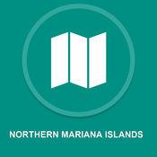北马里亚纳群岛 : 离线GPS导航1