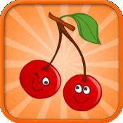蔬菜和水果:免费教育游戏为孩子们 - 有乐趣,学习语言