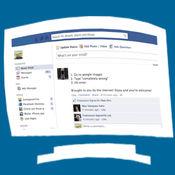 Facebook的桌面PC版