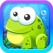 超级青蛙跳短跑 - 免费动物跳跃类游戏 1