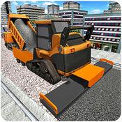 城市道路建筑2016年 - 重工工程起重机模拟游戏 1