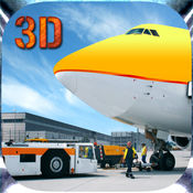 城市机场货物飞机飞行模拟器游戏